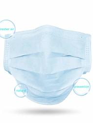 Недорогие -100 pcs Товары для безопасности на рабочем месте Лицевая маска Дышащий Защита от пыли Одноразовый Защита 3 слоя Синий
