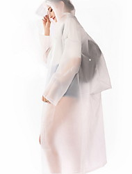 cheap -Women's Daily Long Trench Coat, Solid Colored Hooded Long Sleeve Polyester White / Blushing Pink / Blue