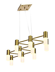 cheap -ZHISHU 8-Light 39 cm Cluster Design Chandelier Metal Gold Traditional / Classic / Nordic Style 110-120V / 220-240V