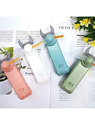 Недорогие -мини-ручной электрический вентилятор охлаждения, изменяющий светодиодный свет концертный реквизит, используемый в качестве игрушки для праздника или вечеринки