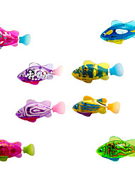 cheap -Interactive Toy Cat 1pc Pet Friendly Animals Fish Plastic Gift Pet Toy Pet Play