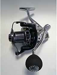 cheap -Fishing Reel Spinning Reel 4.1:1 Gear Ratio+13 Ball Bearings Hand Orientation Exchangable Sea Fishing