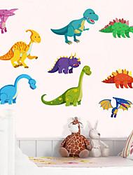 cheap -Dinosaur Wall Stickers Children Room Home Decor Dinosaur Vinyl Kids Room Decal Baby Nursery Decor