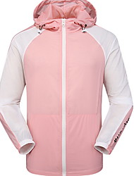 cheap -Protective Clothing Anti Dust And Droplet Men's Suit, Color Block Hooded Long Sleeve Polyester White / Yellow / Blushing Pink