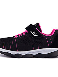 cheap -Women's Flats Flat Heel Round Toe Tissage Volant Sporty / Casual Running Shoes / Walking Shoes Spring &  Fall / Spring Purple / Red / Black