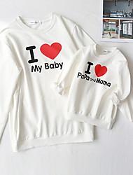 Недорогие -Мама и я Буквы Набор одежды Белый