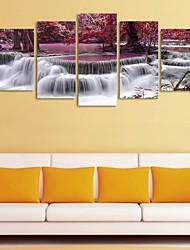 cheap -5 Panels Modern Canvas Prints Painting Home Decor Artwork Pictures DecorPrint Rolled  Stretched  Modern Art Prints  Landscape