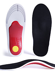 cheap -Orthotic Inserts Shoe Inserts Running Insoles Men's Women's Flat Feet Foot Sports Insoles Foot Supports Shock Absorption Arch Support Breathable for Running Jogging Spring, Fall, Winter, Summer Black