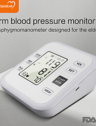 cheap -Portable Tonometer Blood Pressure Monitor Household Sphygmomanometer Arm Band Type Digital Electronic Mini Blood Pressure Meter