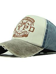 cheap -Men's Women's Basic Cotton Baseball Cap-Color Block All Seasons Wine Yellow Blue