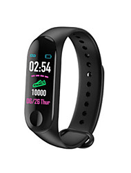 cheap -M3 Unisex Smart Wristbands Bluetooth Waterproof Heart Rate Monitor Blood Pressure Measurement Sports Long Standby ECG+PPG Pedometer Sleep Tracker Sedentary Reminder Exercise Reminder