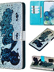 cheap -Case For Samsung Galaxy A50/Galaxy Note 10 / Galaxy Note 10 Plus Wallet / Card Holder / with Stand Full Body Cases Animal PU Leather For Galaxy S20/S20 Plus/S20 Ultra/A50S/A30S/A71