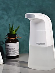 cheap -Household Automatic Portable Foam Soap Dispenser for Kitchen bathroom Hand Free Automatic Soap Dispenser No Noise Liquid Soap Dispenser