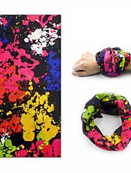 Недорогие -Охлаждающие полотенца Экологичные Не скользит Быстровысыхающий Полиэстер для Йога 48*25 cm Черный Красно-черный Красный / желтый