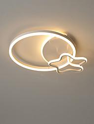 cheap -50 cm Geometric Shapes Flush Mount Lights Aluminum Painted Finishes LED Modern 110-120V 220-240V