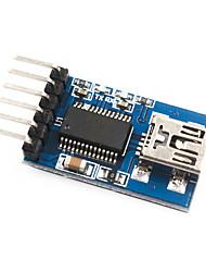cheap -Mini USB to TTL FT232 3.3V 5V Power Supply FTDI MWC Support Arduino 232 RL Port