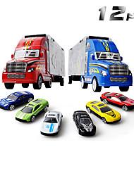 Недорогие -Игрушечные машинки Модели автомобилей Мотоспорт Грузовик Грузовик Универсальные Мальчики Игрушки Подарок