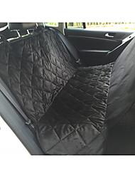 Недорогие -Собаки Коты Чехол для сидения автомобиля Медобеспечение Компактность Путешествия Складной Однотонный Нейлон Черный Коричневый