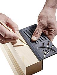 Недорогие -Инструмент для измерения угла наклона квадратного размера 3d с угломером и линейкой