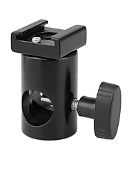 cheap -CAMVATE Light Stand Head With Cold Shoe Mount Adapter C2418