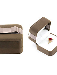 cheap -Jewelry Box - Leather Brown 6.5 cm 7.5 cm 5.2 cm / Women's