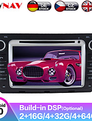 cheap -ZWNAV 8inch 2din Android 9.0 DSP 4GB 64GB Car DVD Player GPS navigation Car auto radio Car multimedia Player Car MP5 Player recorder For Benz Smart 2010-2014