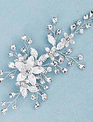 cheap -Women's For Wedding Anniversary Gift Formal Rhinestone Alloy Silver 1pc