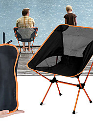 cheap -Jungle King Camping Chair Breathable Ultra Light (UL) Foldable Durable Aluminium Alloy 7005 Mesh for 1 person Camping / Hiking Hunting Fishing Cycling / Bike Autumn / Fall Spring Orange Blue Red Dark