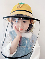 cheap -Kids Unisex Color Block Hats & Caps Yellow / Blushing Pink / Red S / M