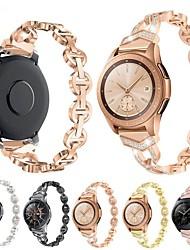 cheap -Watch Band for Samsung Galaxy Watch 42mm / Samsung Galaxy Watch Active Samsung Galaxy Jewelry Design Stainless Steel Wrist Strap