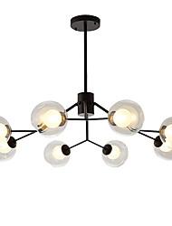 cheap -feimiao 8-Light 90 cm Sputnik Design Chandelier Metal Glass Painted Finishes Modern / Nordic Style 110-120V / 220-240V