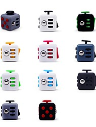 cheap -Speed Cube Set Magic Cube IQ Cube Fidget Desk Toy Fidget Cube Puzzle Cube for Killing Time Stress and Anxiety Relief Focus Toy Classic Kid's Adults' Toy Gift