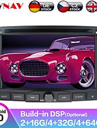 Недорогие -zwnav 6.2inch 2din dsp android 9 Автомобильный DVD-плеер Автомобильный мультимедийный проигрыватель Радио магнитофон Автомобильный GPS-навигатор Автомобильный MP5-плеер Радио стерео для Peugeot 3008 /