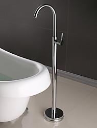 Недорогие -смеситель для ванны - современный хромированный керамический смеситель для душа