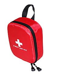 cheap -Nylon Pattern / Print / Zipper Emergency Survival Bag Outdoor Red