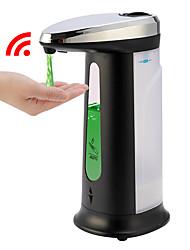 Недорогие -Дозатор жидкого мыла 400мл автоматический интеллектуальный датчик бесконтактный абс гальваническое дезинфицирующее средство Dispensador бутылка для кухни ванной