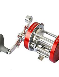 cheap -Fishing Reel Baitcasting Reel 5.2:1 Gear Ratio+2+1 Ball Bearings Right-handed Sea Fishing / Bait Casting / Ice Fishing - CL50 / Freshwater Fishing