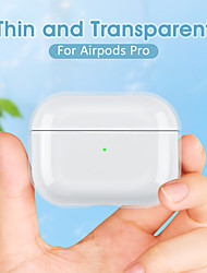 cheap -Protective Cover Case Simple Style Apple Airpods 2 Apple Airpods Pro Shockproof Waterpoof Scratch-proof PU Leather