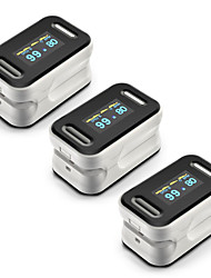 cheap -3pcs Finger Pulse Oximeter LED Display Clip Heart Rate Oxygen Saturation Tester Personal Health Infrared Sensor Mode Switching