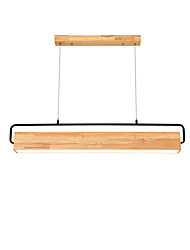 cheap -10 cm Dimmable Pendant Light Wood / Bamboo Wood / Bamboo Island Painted Finishes Nature Inspired / Country 110-120V / 220-240V