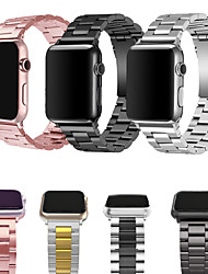 cheap -Metal Band For Apple Watch Strap 38/40MM 42/44MM Bracelet Clasp Apple Watch Series 6 SE 5 4 3 2 1 General