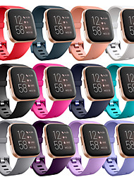 cheap -Watch Band for Fitbit Versa Lite / Fitbit  Versa 2 /Fitbit Versa Fitbit Modern Buckle Silicone Wrist Strap