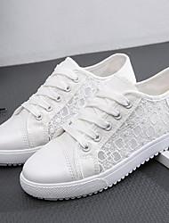 cheap -Girls' Comfort Canvas Sneakers Little Kids(4-7ys) Running Shoes Blue / Black / Dark Blue Summer