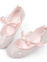 cheap -Girls' Comfort Microfiber Flats Little Kids(4-7ys) Red / Pink / Silver Summer
