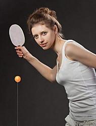 Недорогие -тренажер для настольного тенниса с эластичным валом. портативный настольный теннис с эластичным мягким валом для отдыха и спорта для взрослых декомпрессионные игры в помещении игры на свежем воздухе