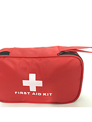 cheap -Oxford Cloth Zipper Emergency Survival Bag Outdoor Red