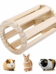 cheap -Stand Feeders Generic Rabbit Creative Wood Brown
