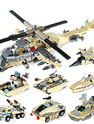 cheap -GUDI GUDI8604 Action Figure Building Blocks Educational Toy Construction Set Toys Warrior Fighter Aircraft Robot compatible ABS Legoing Cool Chic & Modern Boys' Girls' Toy Gift / Kid's