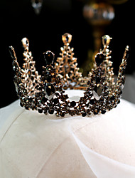 cheap -Women's Tiaras For Wedding Party Evening Prom Festival Artisan Alloy Bronze 1pc
