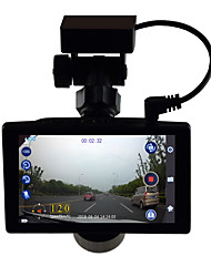 cheap -Cross-border IPS Touch Screen 4-inch Traveling Data Recorder Hidden GPS High Definition Night Vision Double Lens Reverse Image 4-inch driving recorder 1080p HD Car DVR 170 Degree Wide Angle CMOS